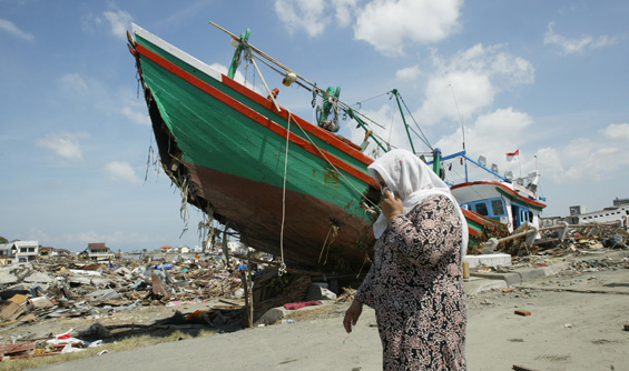 Remarkable, Us aid to asian tsunami