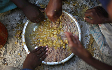 As the United Nations marks World Food Day, a report from the Food and Agriculture Organisation (FAO) has said that a record one billion people around the world are malnourished - and the number is rising [AFP]