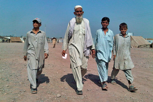 Pakistan's war with the Taliban in South Waziristan has sparked a refugee crisis [images by Zein Brasravi]