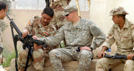 was the iraqi use of military