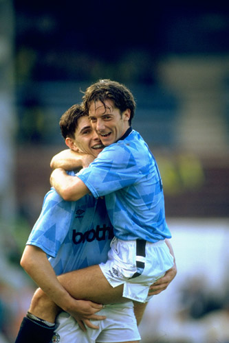 Ian Bishop and Paul Lake hail Man City's cherished 5-1 win over Utd in 1989 [GALLO/GETTY]