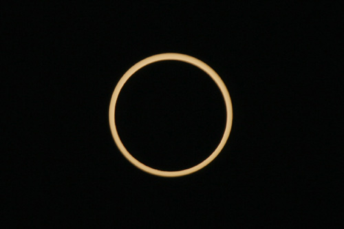 The longest, ring-like solar eclipse of the millennium occurred on Friday [Reuters]