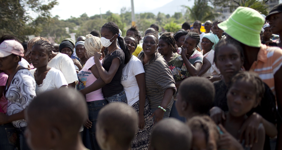 Tens of thousands of people in Haiti remain desperate for food, water and medical care as relief organisations and teams from the United Nations struggle to bring supplies to the earthquake survivors [Reuters]