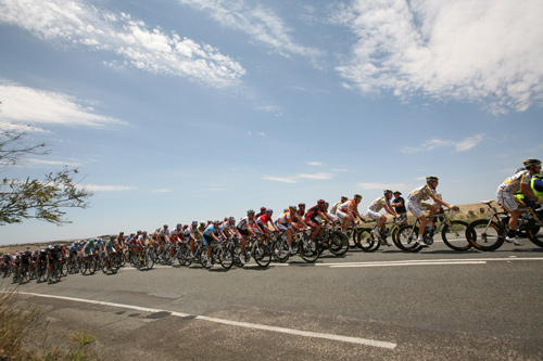 The Tour Down Under is the first stop on the world cycling calendar 2010 – and is the biggest cycling race in the southern hemisphere [GALLO/GETTY]