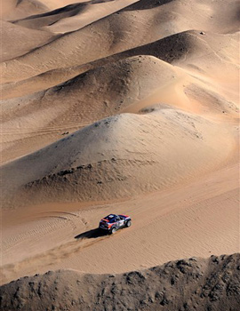 Considered the most dangerous race in sport, the Dakar Rally enters its second week with over 378 drivers taking part [AFP]