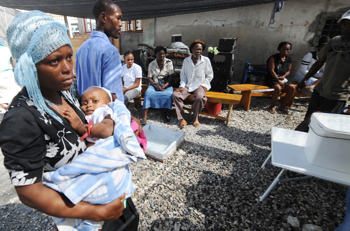 crisis in haiti Artibonite, haiti, 27 august 2015 – in the past, many people here got very sick my friend got cholera – she almost died, says maria, 12 years old she lives in.