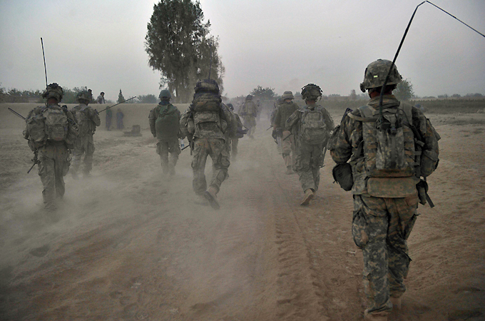 Surge in suicides among US soldiers