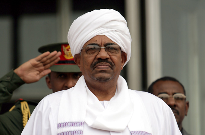 Image result for Omar al-Bashir, pictures