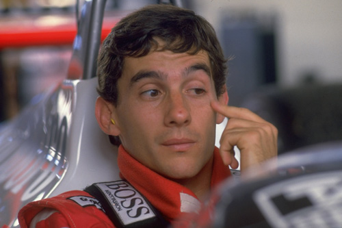 Ayrton Senna won his first of three championships in 1988 before his death at Imola in 1994 [GALLO/GETTY]