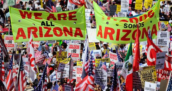 arizona's immigration discrimination law
