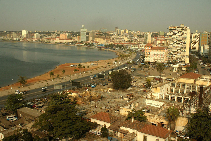 But top of the list is Luanda in Angola - there it(***)ll cost you seven thousand dollars a month to rent [EPA]