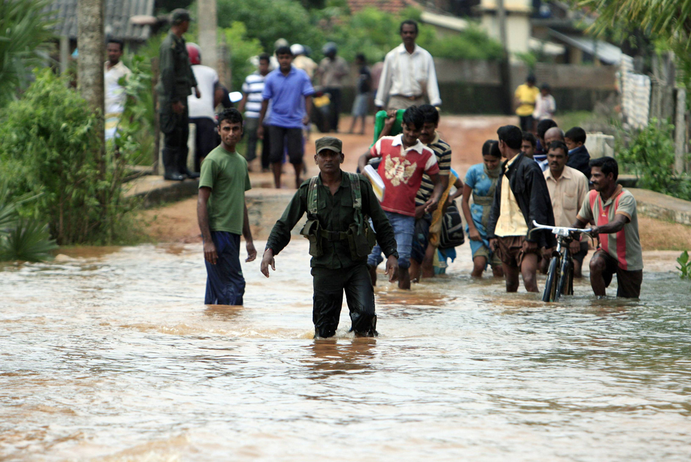 Sri Lanka continues to battle devastating floods which have resulted in the deaths of at least 38 people [Reuters]