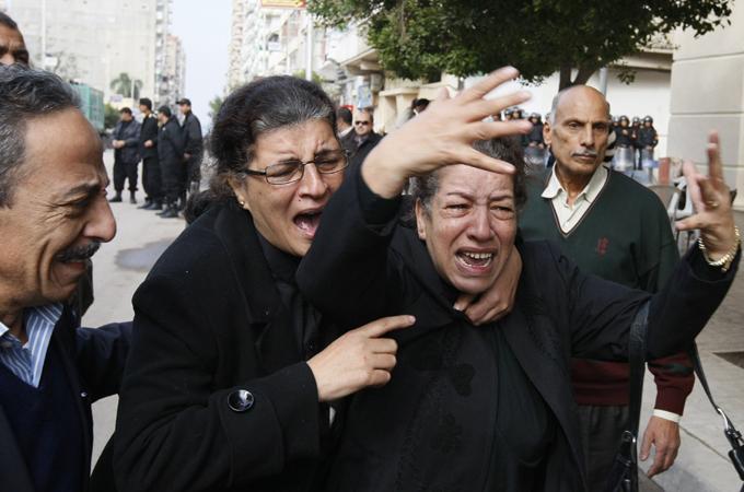 Coptic Church Egypt Attacked Egypt Probes Coptic Church