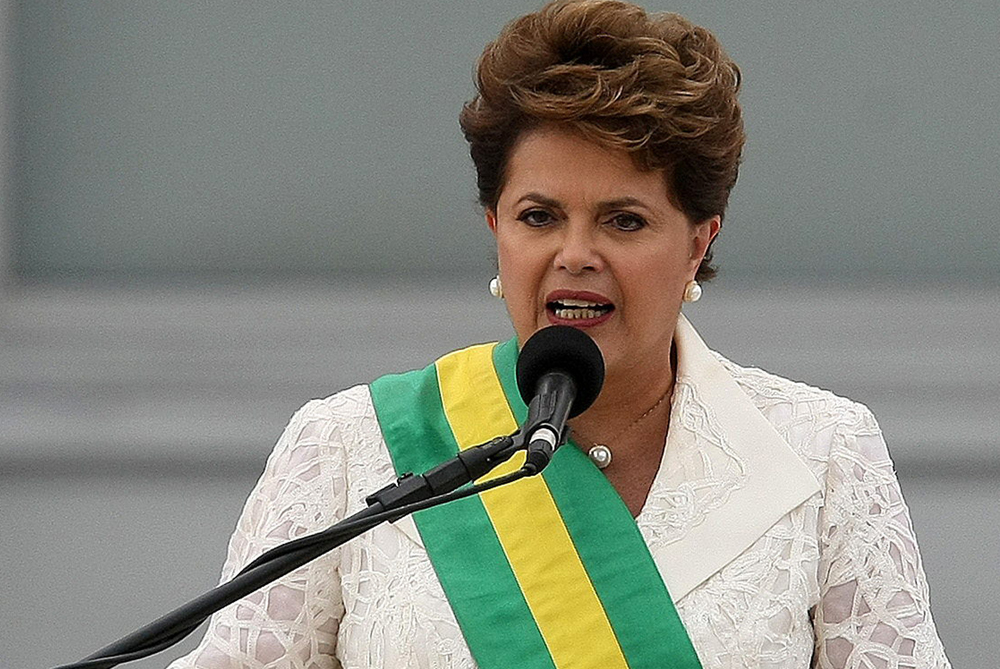 Dilma Rousseff, Brazil(***)s first female president, will face many challenges including education and economic reforms [EPA]