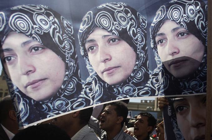 Yemen frees protest activist