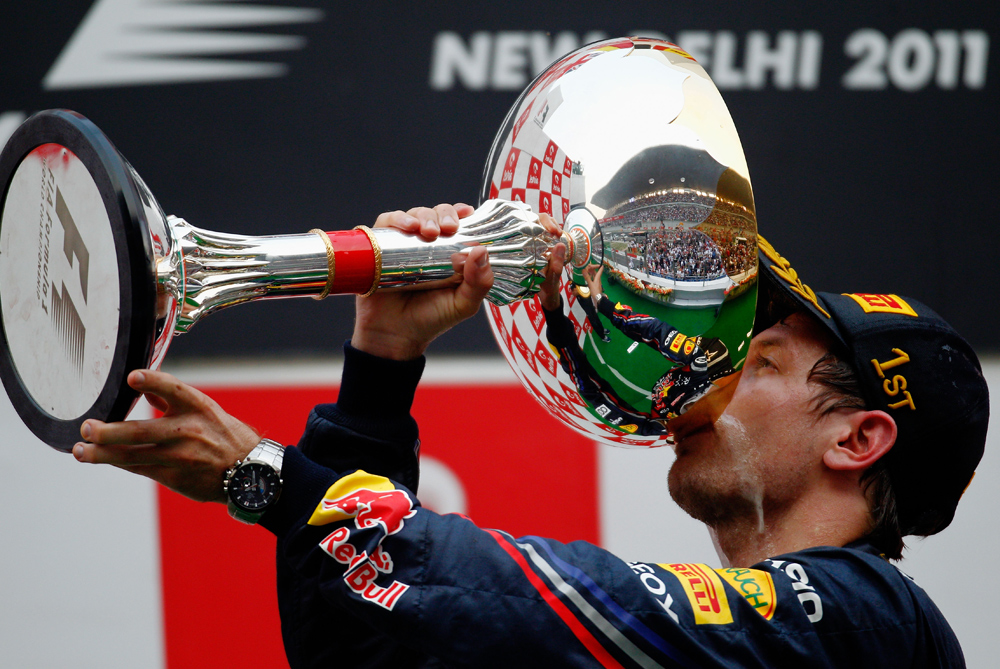Sebastian Vettel dominated the 2011 Formula One season claiming his second title in Japan with four races to go. There were only four occasions the German did not secure pole and he won a remarkable 11 races. But a year on, and how things would change!