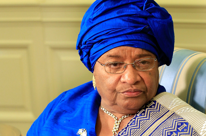 Image result for President Ellen Johnson-Sirleaf