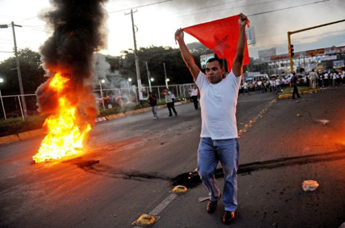 Image result for violence in nicaragua images
