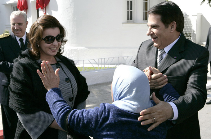 The family of deposed Tunisian President Ben Ali is part of the global one per cent elite [EPA]