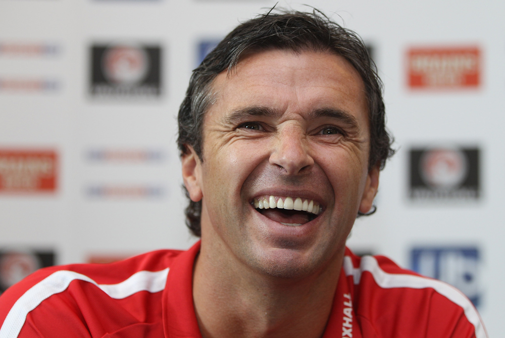 Wales manager and former Newcastle and Leeds midfielder Gary Speed was tragically found dead earlier this week at the age of 42. We look back at his life and career [GALLO/GETTY]