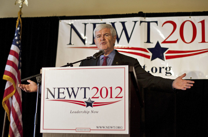 Saying—and gingrich echoes verbally and in print—is that