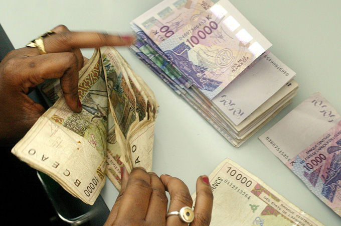 The Cfa Franc Used By 14 African Countries Was Created In 1945 A Decree Signed Charles De Gaulle Epa