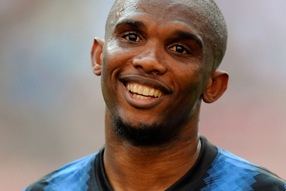 With just over a month to go in most European leagues, the race for the Golden Shoe is on. Inter(***)s Samuel Eto(***)o is in joint ninth with 19 goals, alongside Bayern(***)s Mario Gomez, Bologna(***)s Marco di Vaio and Manchester City(***)s Carlos Tevez [GALLO/GETTY]
