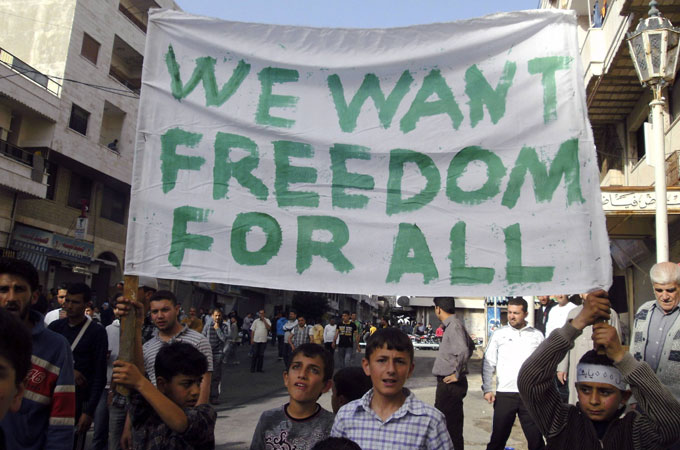 Image result for syrian protests 2011