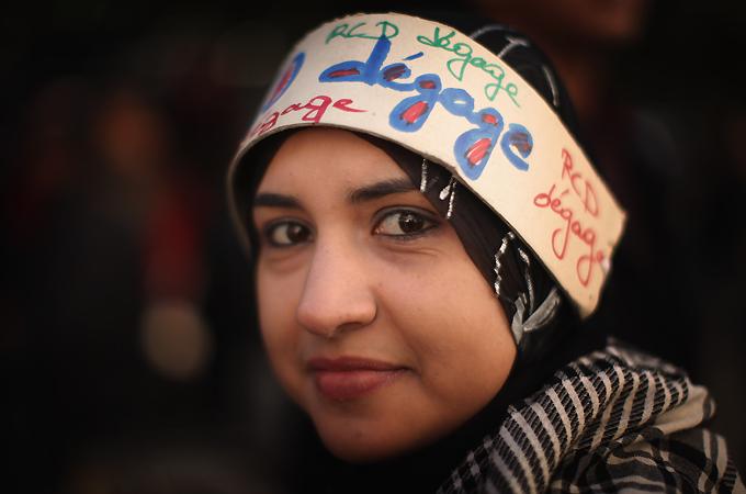 Image result for tunisian women in revolution