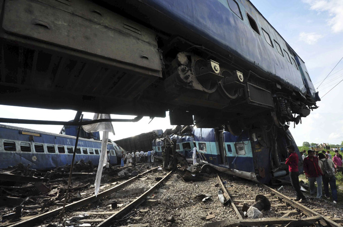 World Biggest Train Accident
