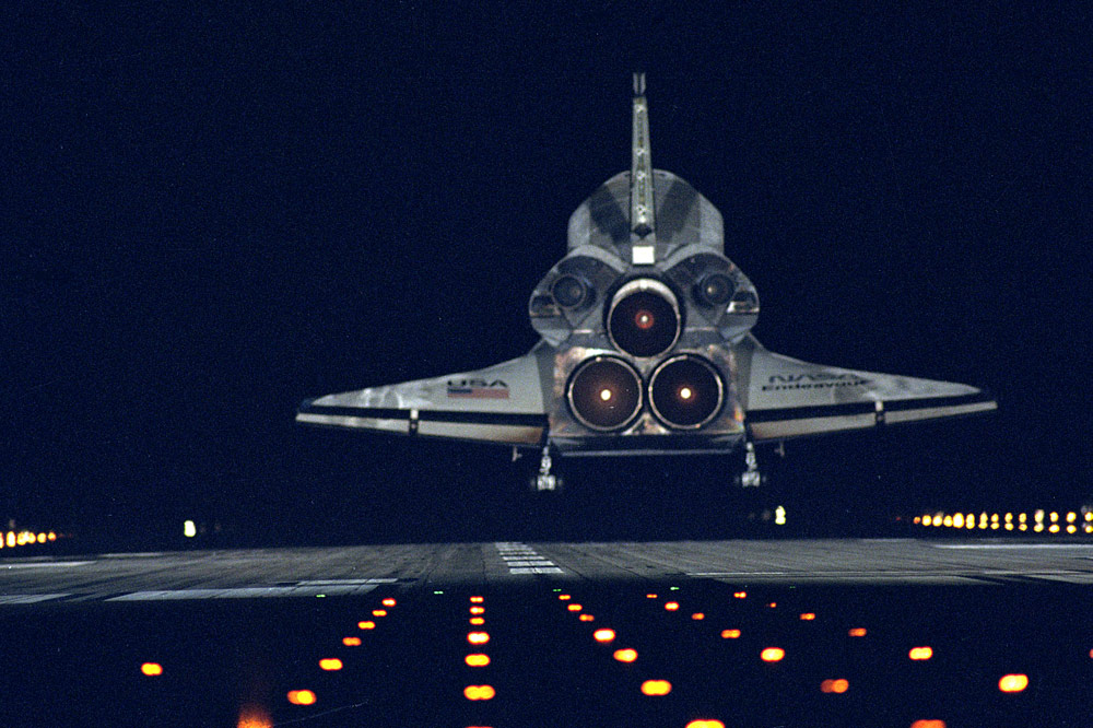 space shuttle return - photo #41