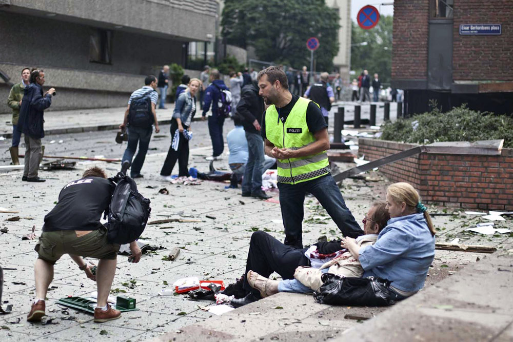 In Pictures: Norway attacks