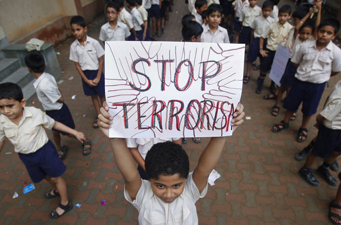 Essay war against terrorism