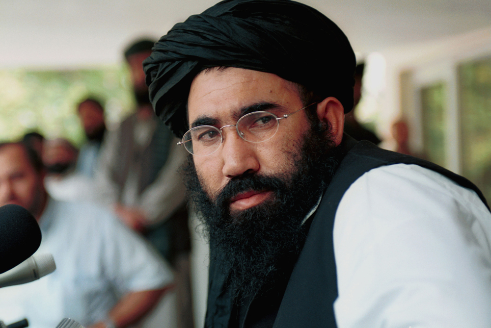 "Abdul Salam Zaeef (pictured), the Taliban(***)s ambassador to Pakistan, said: ""We want to tell the American children that Afghanistan feels your pain and we hope that the courts find justice."" Wakeel Ahmed Mutawakel, the Afghan foreign minister, told Al Jazeera that his government ""denounce[d] this terrorist attack, whoever is behind it"" [GALLO/GETTY]"
