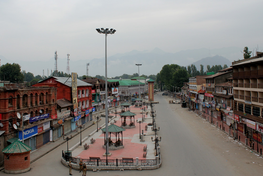 Blackout in Kashmir in Indian-administered - Al Jazeera ...