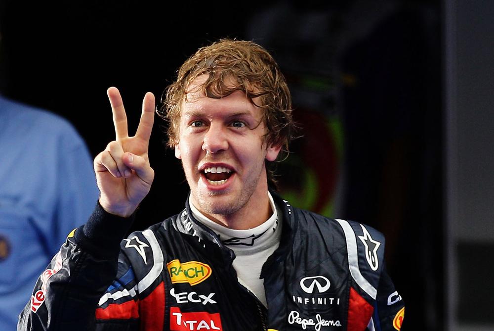 Vettel Finger