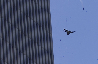 This Is One Of The Estimated 200 People Who Jumped To Their Deaths From World Trade Center Towers GALLO GETTY
