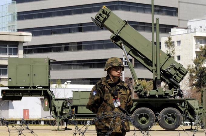 Japão instala mísseis no sul do país antes do lançamento norte-coreano