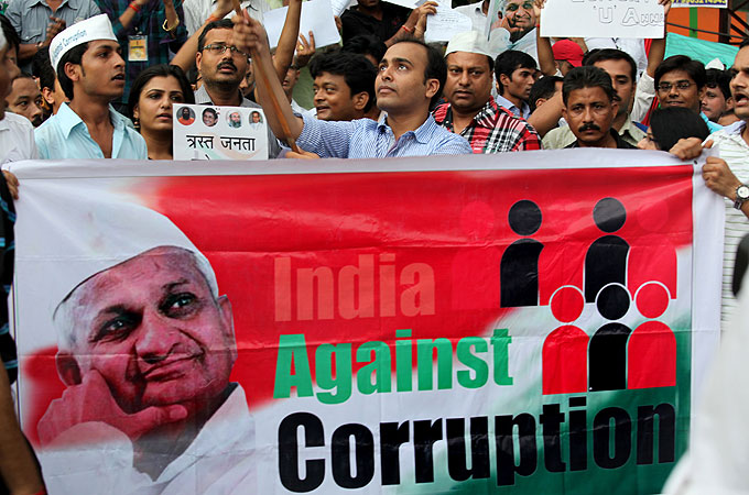 essay on politics and corruption in india