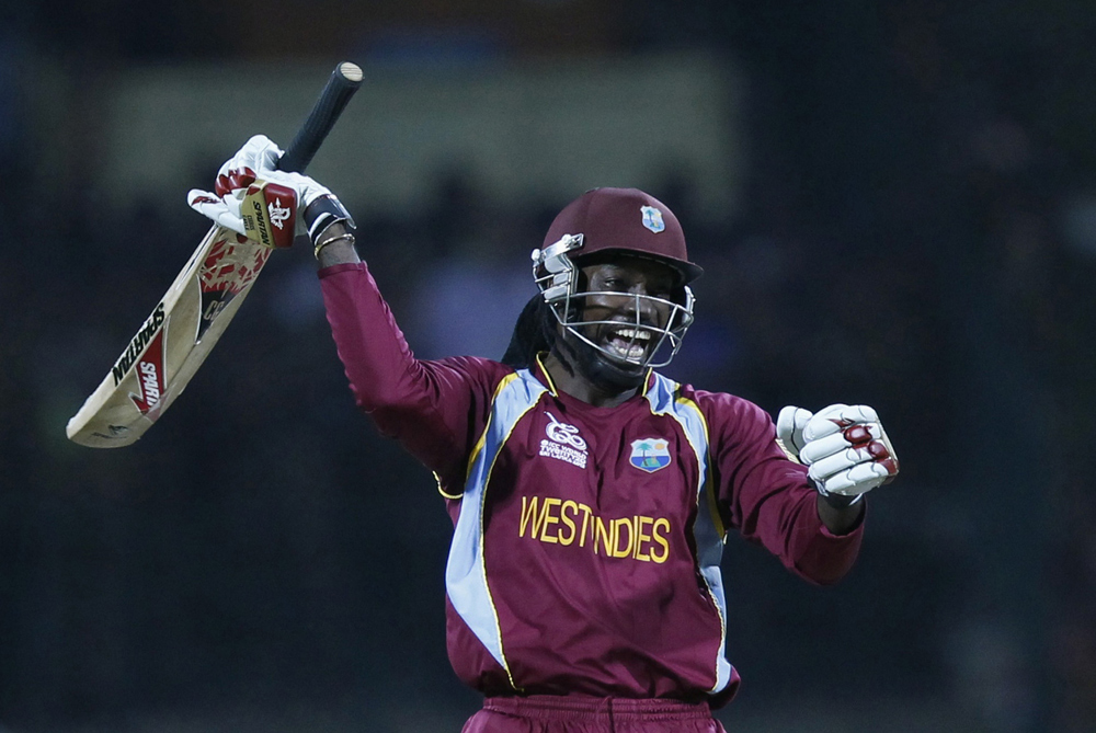 It(***)s the business end of the World Twenty20 and the first team to qualify for the semi-finals are the West Indies, who knocked New Zealand out in a dramatic Super Over [Reuters]