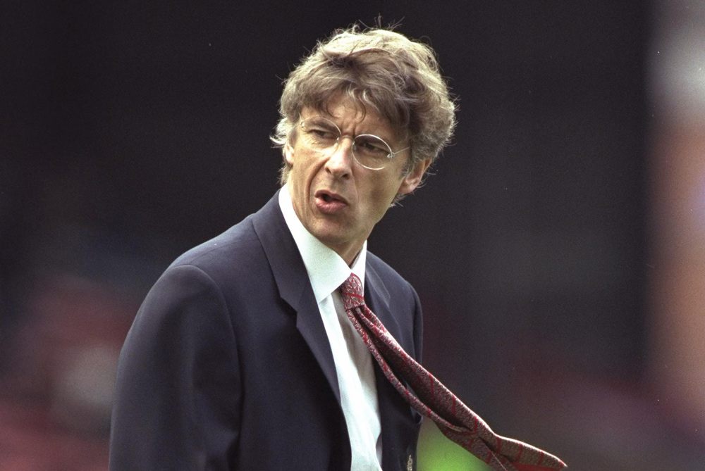 1996/97: Virtually unknown in English football, Arsene Wenger joined Arsenal having spent a year in Japan managing Grampus Eight. The Frenchman was quickly referred to by the media, as (***)Arsene Who?(***) [GALLO/GETTY]