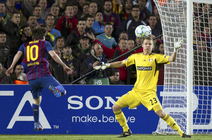 eb1efc4f7ae One of the greatest football players of all time - Messi puts on a  masterclass  EPA