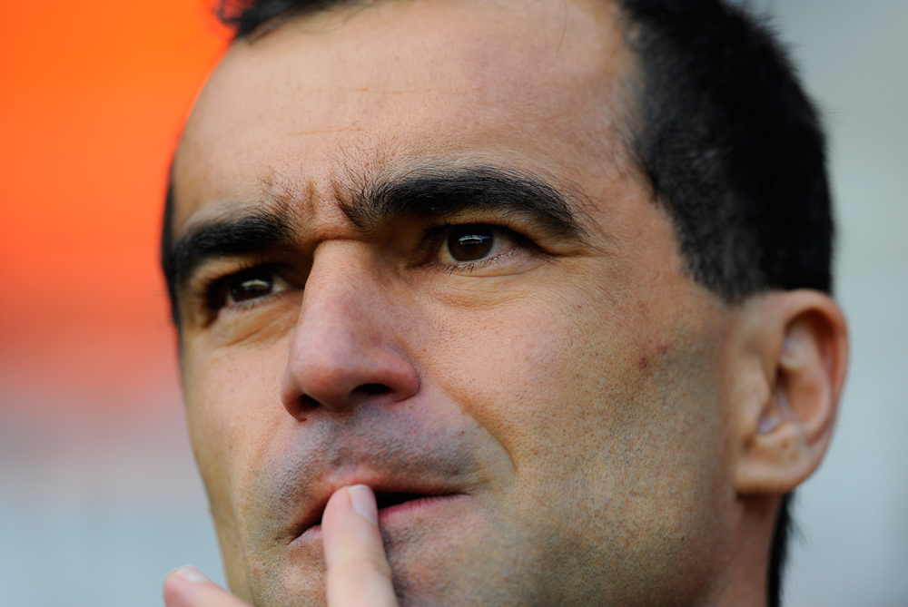 In the 2010-11 season Wigan escaped relegation on the last day of the season. Despite a disappointing year chairman Dave Whelan stuck by manager Roberto Martinez (pictured). However, this decision looked questionable at the start of the 2011-12 season with the Lactics slumping to the bottom of the table [GALLO/GETTY]
