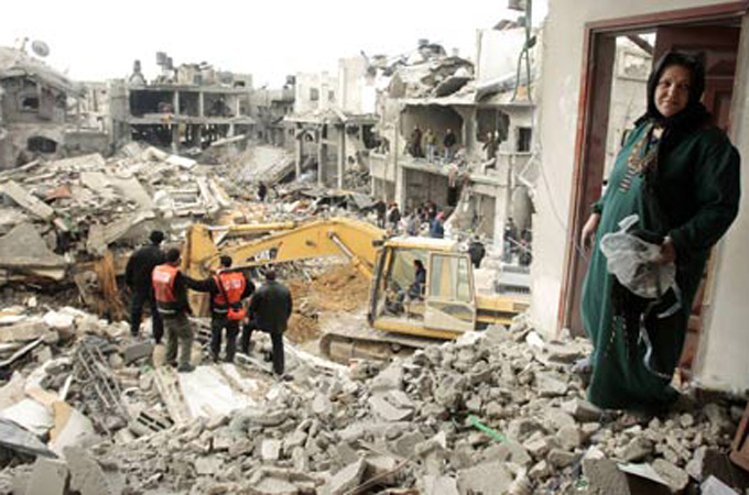 Israel launched a military offensive on the Gaza Strip in 2008-2009, killing over 1,000 people