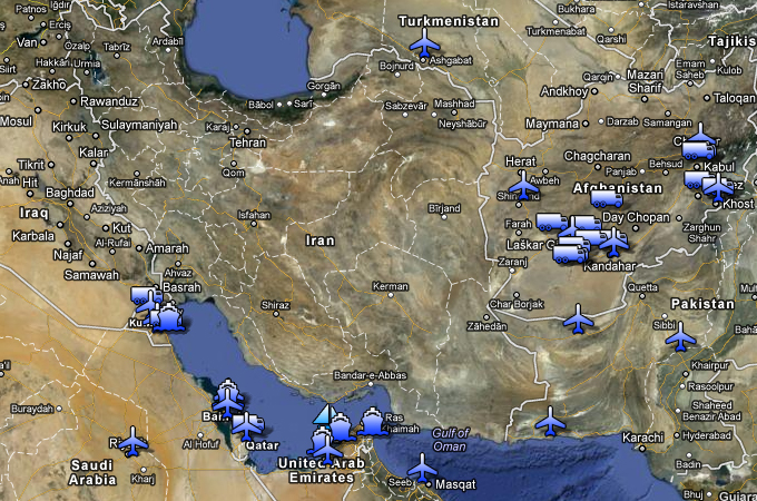 Map: US bases encircle Iran | | Al Jazeera