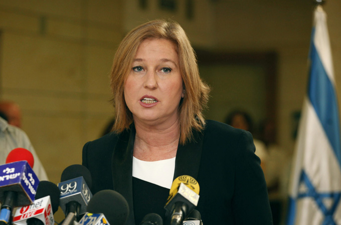 Livni said she would remain in public life after resigning from the Knesset