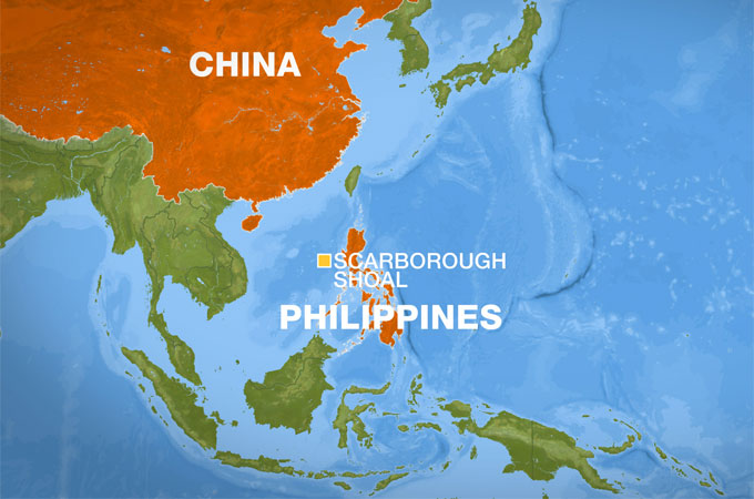 Scarborough Shoal stand-off sparks protests | China | Al Jazeera on south korea map, bataan map, pratas island map, south china sea, north korea map, swains island map, machias seal island map, nine-dotted line, pratas islands, spratly islands, north borneo map, bangladesh map, china map, south china sea islands, spratly islands dispute, cebu map, philippines map, masbate map, subic bay map, yongxing island map, paracel islands, macclesfield bank, senkaku islands dispute, senkaku islands, hans island map, mayotte map, itu aba island map, chagos archipelago map, mindoro map, matsu islands map,