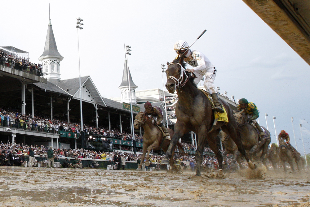 The Kentucky Derby is one of North America(***)s most popular sporting events [EPA]