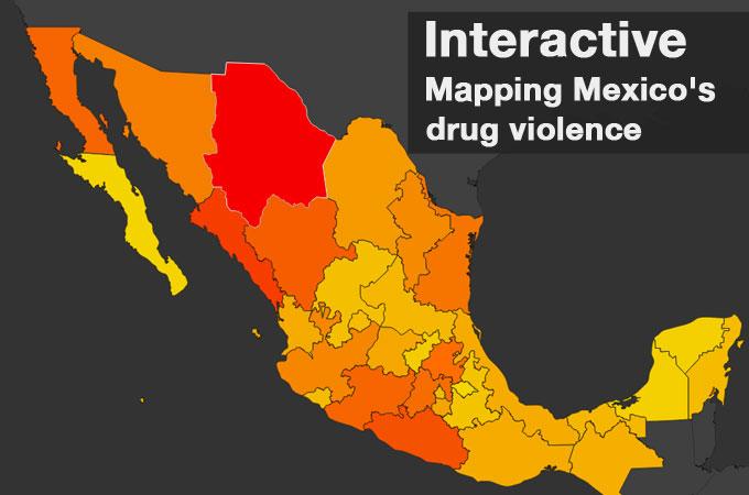 Mapping Mexico S Gang Violence Mexico Al Jazeera