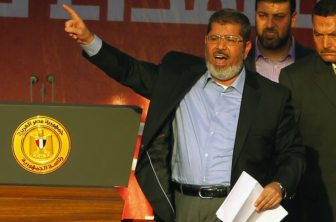Morsi promised to preserve a civil state, and to work to free civilians detained by the military since the revolution